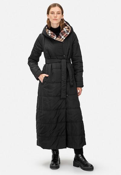 HELMIDGE Wintermantel in schwarz, Modelansicht