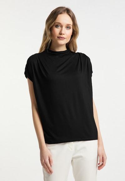 DreiMaster Klassik Shirt in de kleur Zwart: Vooraanzicht