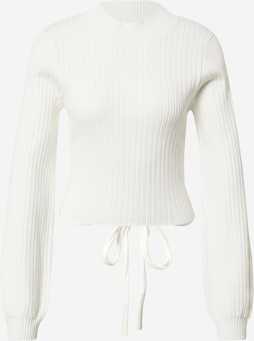 GLAMOROUS Pullover in Weiß