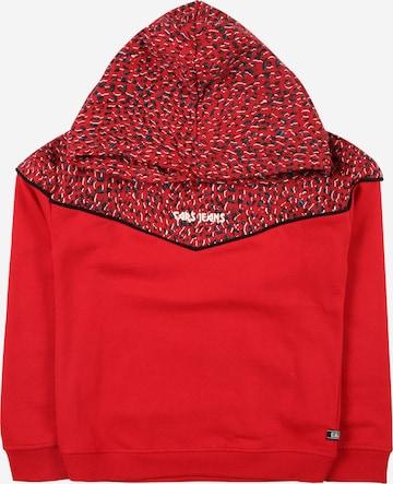 Cars Jeans Sweatshirt 'QUITA' in Rot