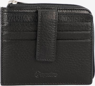 Esquire Oslo Kreditkartenetui RFID Leder 10,5 cm in schwarz, Produktansicht