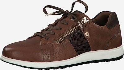 TAMARIS Sneaker in braun, Produktansicht