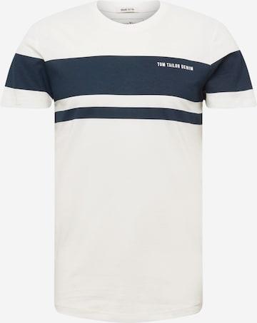 T-Shirt TOM TAILOR DENIM en beige