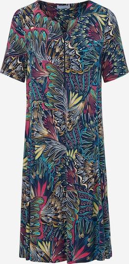 Looxent Abendkleid mit 1/2-Arm in blau / mischfarben, Produktansicht