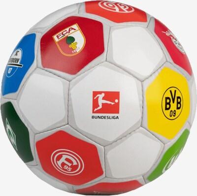 DERBYSTAR Ball in blau / gelb / grün / rot / weiß, Produktansicht