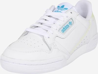 ADIDAS ORIGINALS Sneakers laag 'Continental 80' in de kleur Lichtblauw / Geel / Wit, Productweergave
