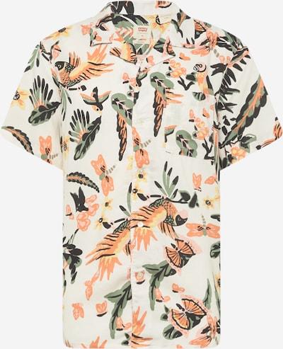 LEVI'S Košeľa - krémová / zelená / oranžová / svetloružová / čierna, Produkt