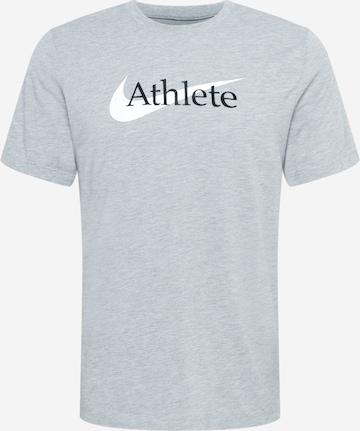 T-Shirt fonctionnel NIKE en gris