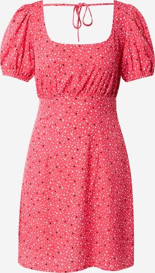 NEW LOOK Kleid 'HENRIETTA' in rot / schwarz / weiß, Produktansicht