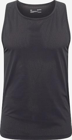 T-Shirt fonctionnel 'Run Anywhere' UNDER ARMOUR en noir