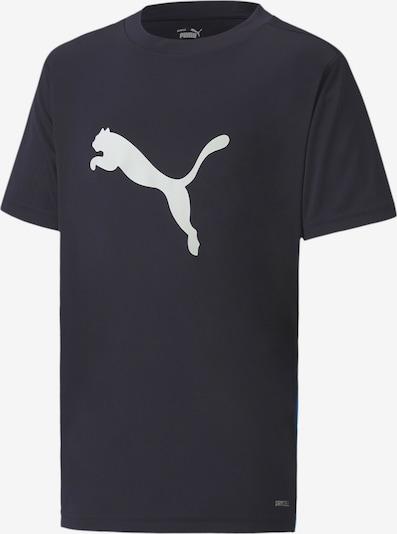 PUMA T-Shirt in dunkelblau / weiß, Produktansicht