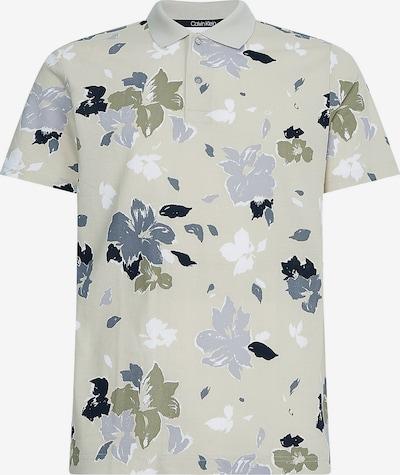 Calvin Klein Shirt in de kleur Smoky blue / Rookgrijs / Kaki / Wit, Productweergave