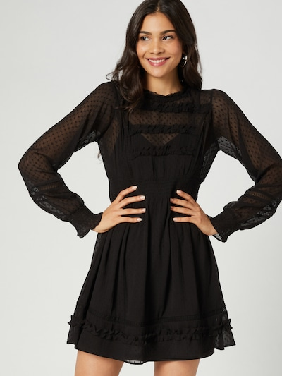 Guido Maria Kretschmer Collection Dress 'Sally' in Black, View model