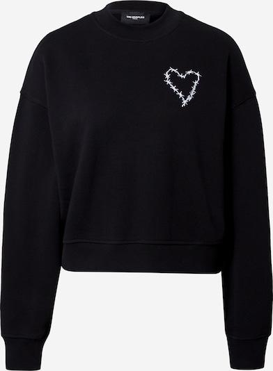 The Kooples Sweatshirt in Black / White, Item view