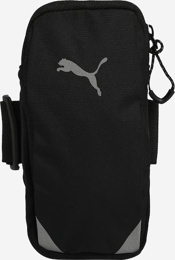 PUMA Sac de sport en gris / noir, Vue avec produit