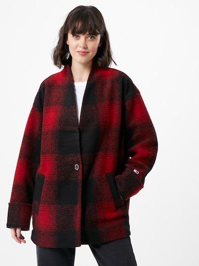 Tommy Jeans Blazer i rød / sort, Modelvisning
