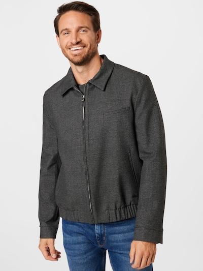 HUGO Jacke in grau / anthrazit: Frontalansicht