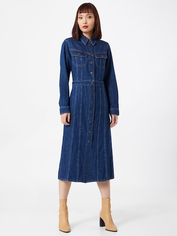 Lee Shirt Dress in Blue
