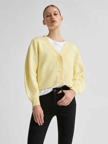Selected Femme Petite Kampsun 'Lipa', värv kollane