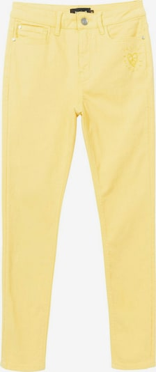 Desigual Pantalon 'ALBA' en jaune, Vue avec produit