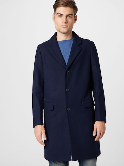 UNITED COLORS OF BENETTON Mantel in dunkelblau, Modelansicht