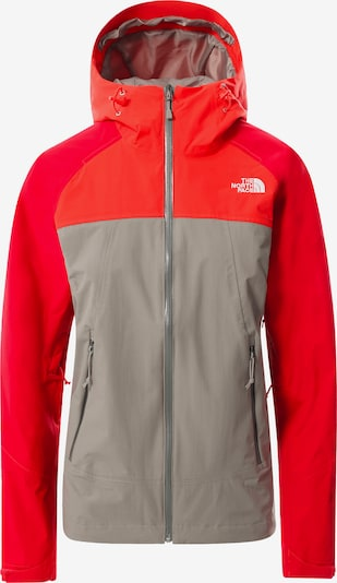 THE NORTH FACE Between-season jacket in Grey / Fire red, Item view