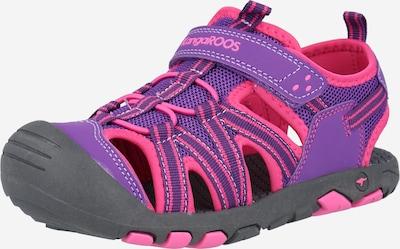 KangaROOS Sandale 'K-Roam' in pflaume / pink, Produktansicht