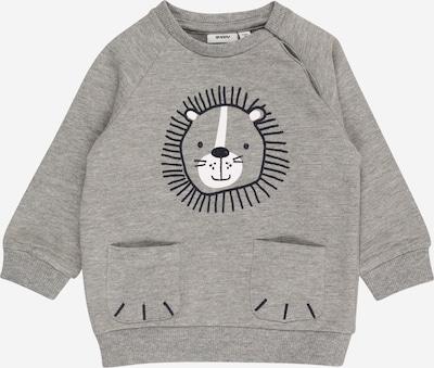 Felpa 'DARKE' Guppy di colore grigio / nero / bianco, Visualizzazione prodotti