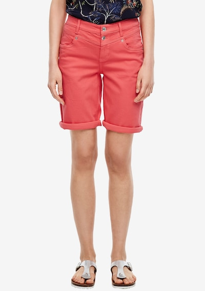 s.Oliver Jeans in de kleur Koraal, Modelweergave