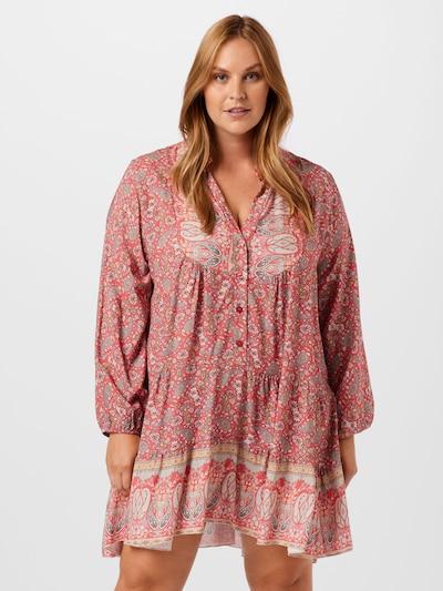 Rochie tip bluză Z-One pe mai multe culori / corai, Vizualizare model
