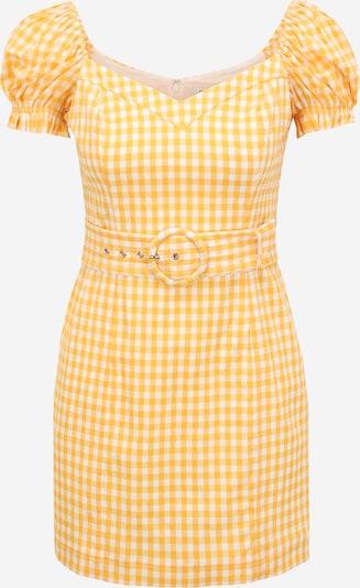 Forever New Petite Kleid 'Nakita' in gelb / weiß, Produktansicht
