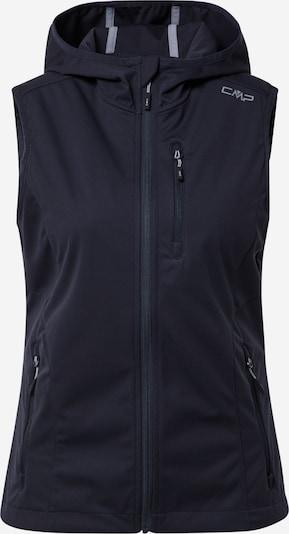 CMP Sportbodywarmer in de kleur Grijs / Zwart, Productweergave