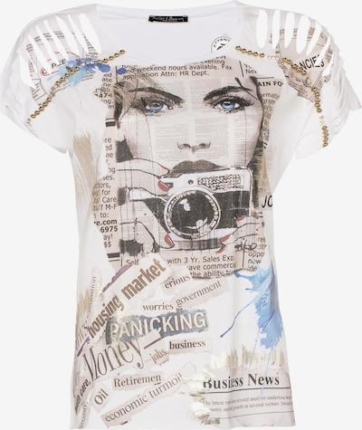 CIPO & BAXX Shirt in de kleur Wit, Productweergave
