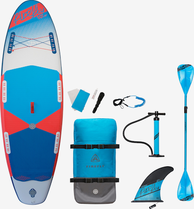 FIREFLY SUP- Set in blau / royalblau / rot / weiß, Produktansicht