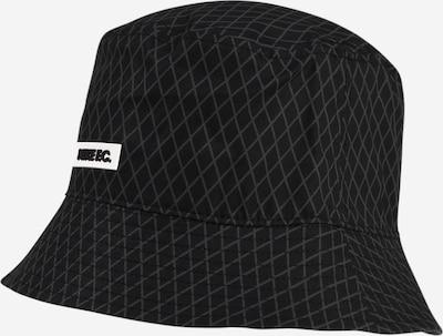 NIKE Mütze in grau / schwarz, Produktansicht
