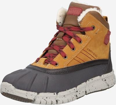 GEOX Stiefel in braun / grau, Produktansicht