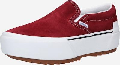 VANS Slip on boty - červená, Produkt