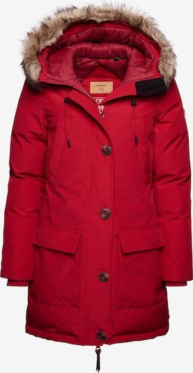 Superdry Winterparka 'Rookie' in de kleur Knalrood, Productweergave