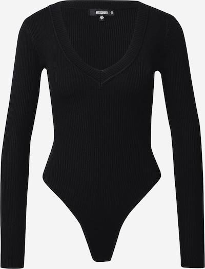 Missguided Shirtbody in schwarz, Produktansicht