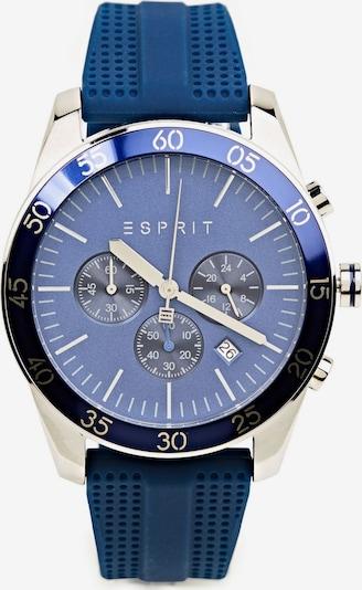 ESPRIT Analoog horloge in de kleur Blauw / Zilver, Productweergave