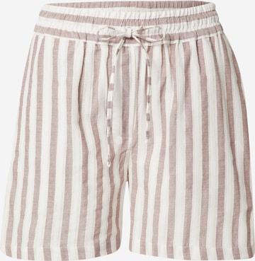 basic apparel Shorts 'Evita' in Braun
