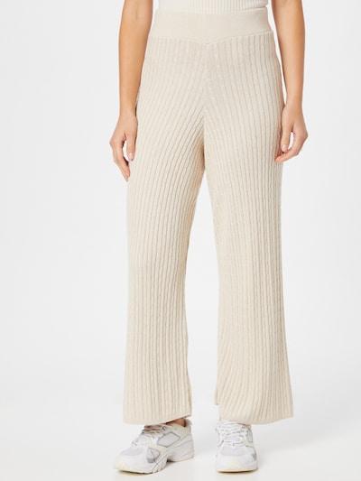 Guido Maria Kretschmer Collection Pantalon 'Valeria' en blanc cassé, Vue avec modèle