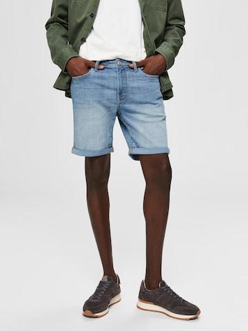 SELECTED HOMME Jeans i blå
