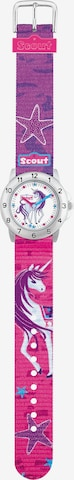 SCOUT Uhr in Pink