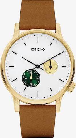 Komono Analog Watch in Brown