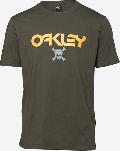 OAKLEY Camiseta funcional en gris oscuro / caqui / naranja, Vista del producto