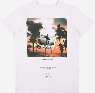 NAME IT Shirt 'JACE' in White