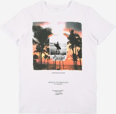 NAME IT Shirt 'JACE' in de kleur Gemengde kleuren / Wit, Productweergave