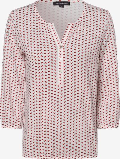 Franco Callegari Shirt in rot / weiß, Produktansicht