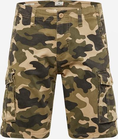 Pantaloni cu buzunare 'ZACK' JACK & JONES pe bej / kaki / verde închis, Vizualizare produs